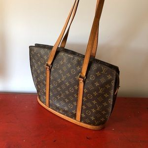 LOUIS VUITTON Monogram Babylone Tote Bag
